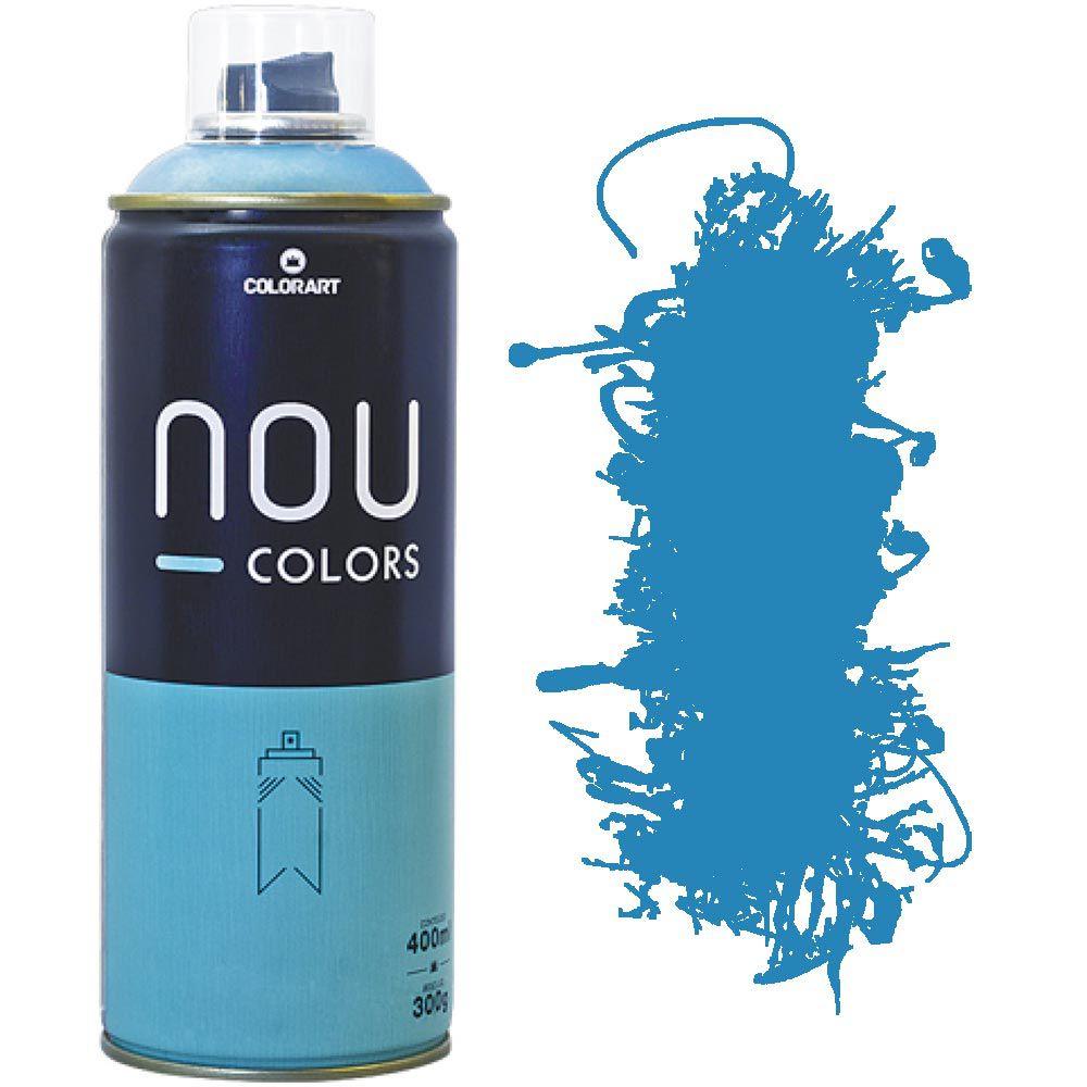 Tinta Spray Nou Colors 400ml Azul atlantico 70021