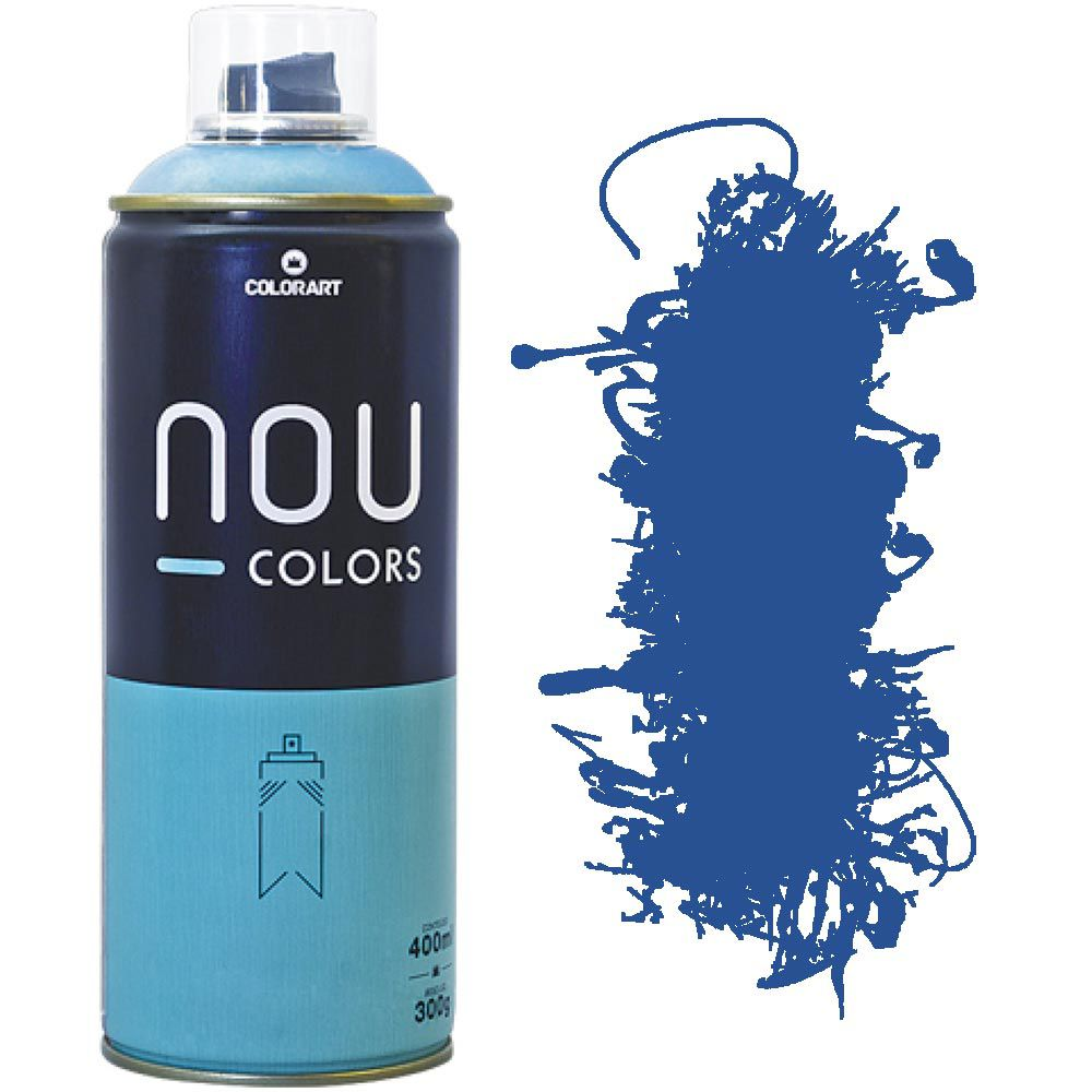 Tinta Spray Nou Colors 400ml Azul lewis 70020