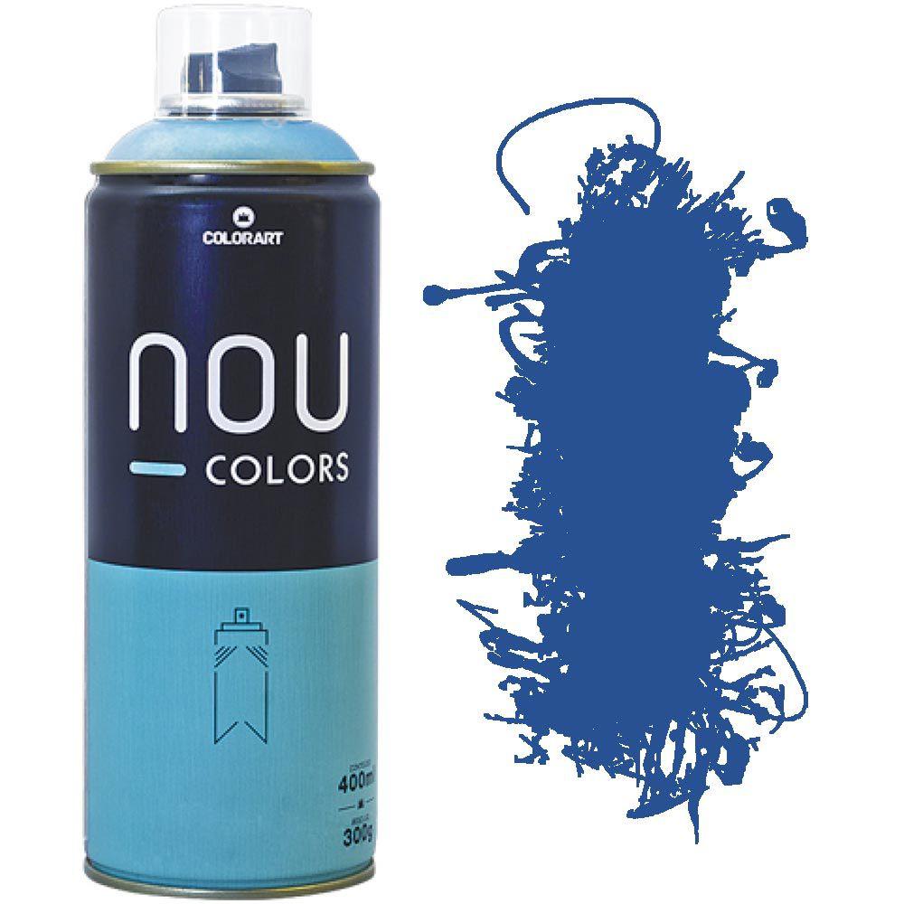 Tinta Spray Nou Colors 400ml Azul lewis 70020
