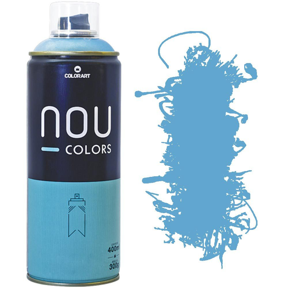 Tinta Spray Nou Colors 400ml Azul lost 70026