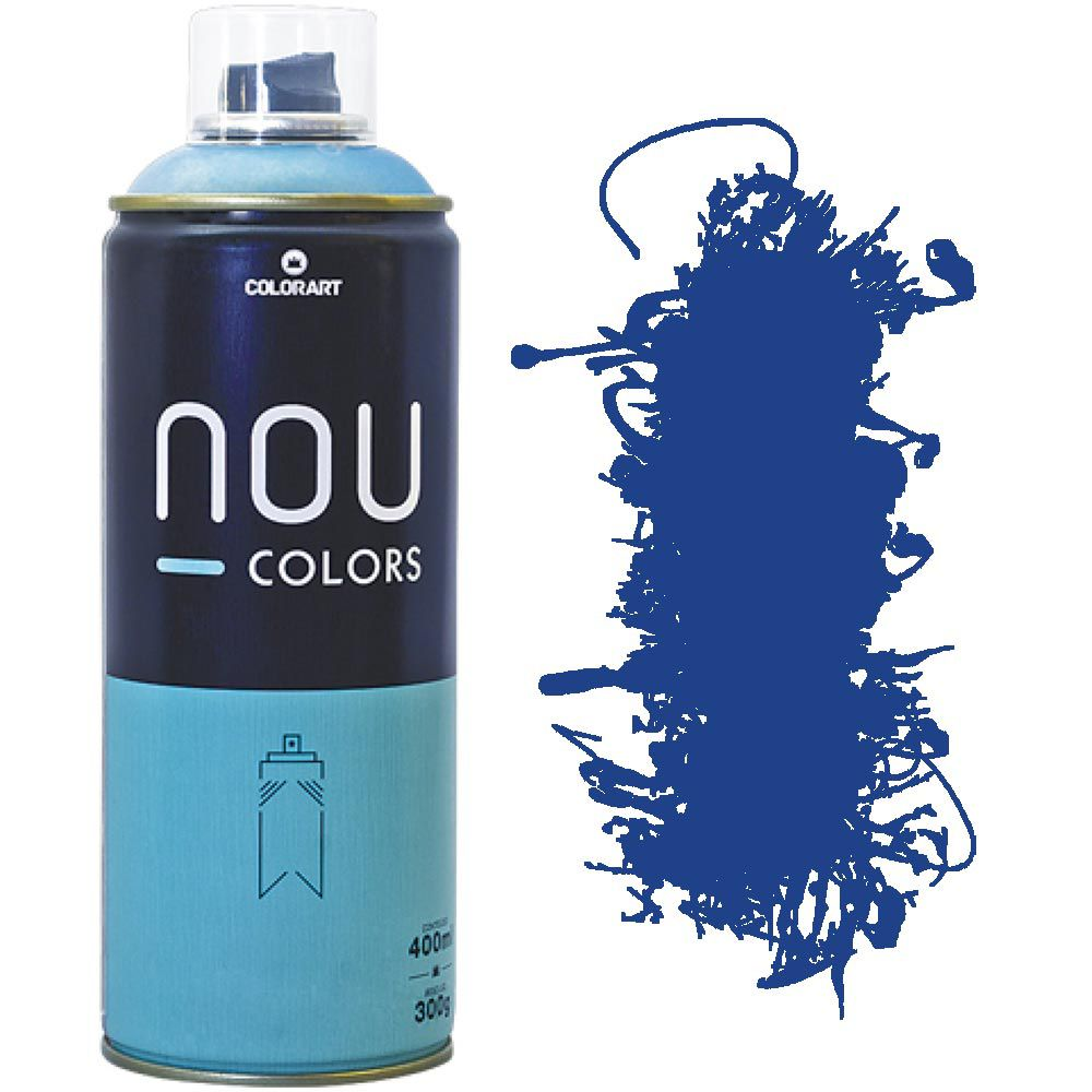 Tinta Spray Nou Colors 400ml Azul ultra 70019