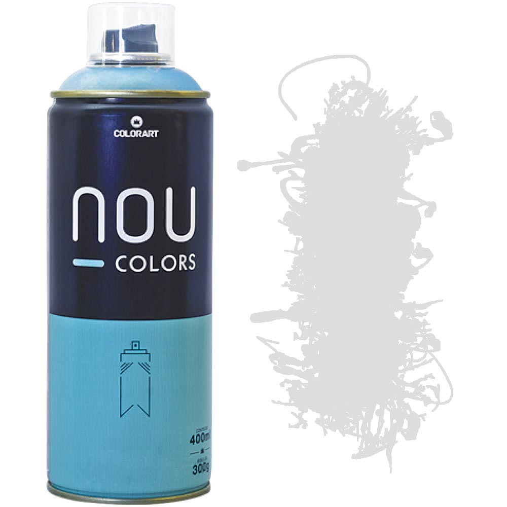 Tinta Spray Nou Colors 400ml Branco 70050
