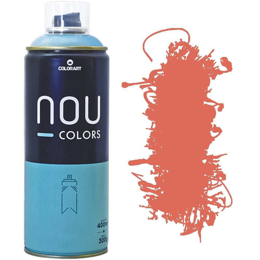 Tinta Spray Nou Colors 400ml Caramelo 70008