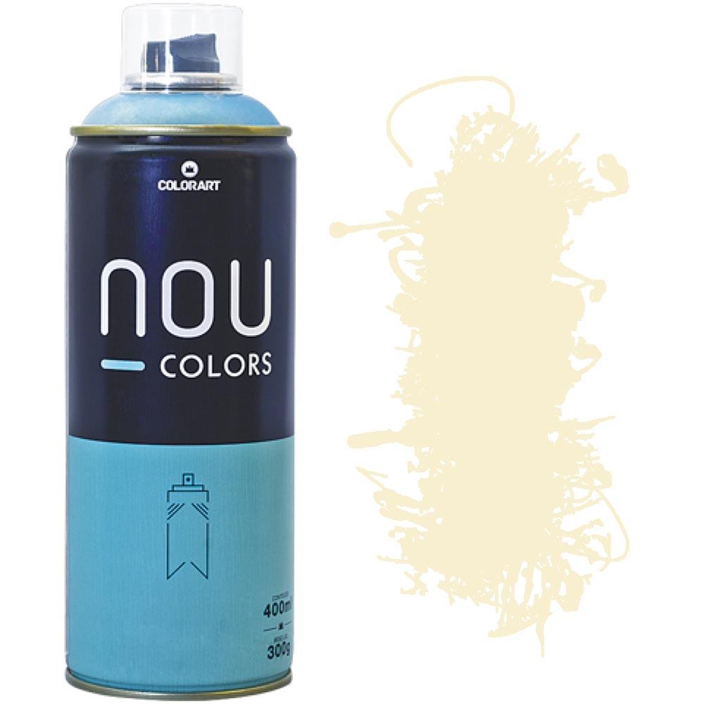 Tinta Spray Nou Colors 400ml Creme 70001