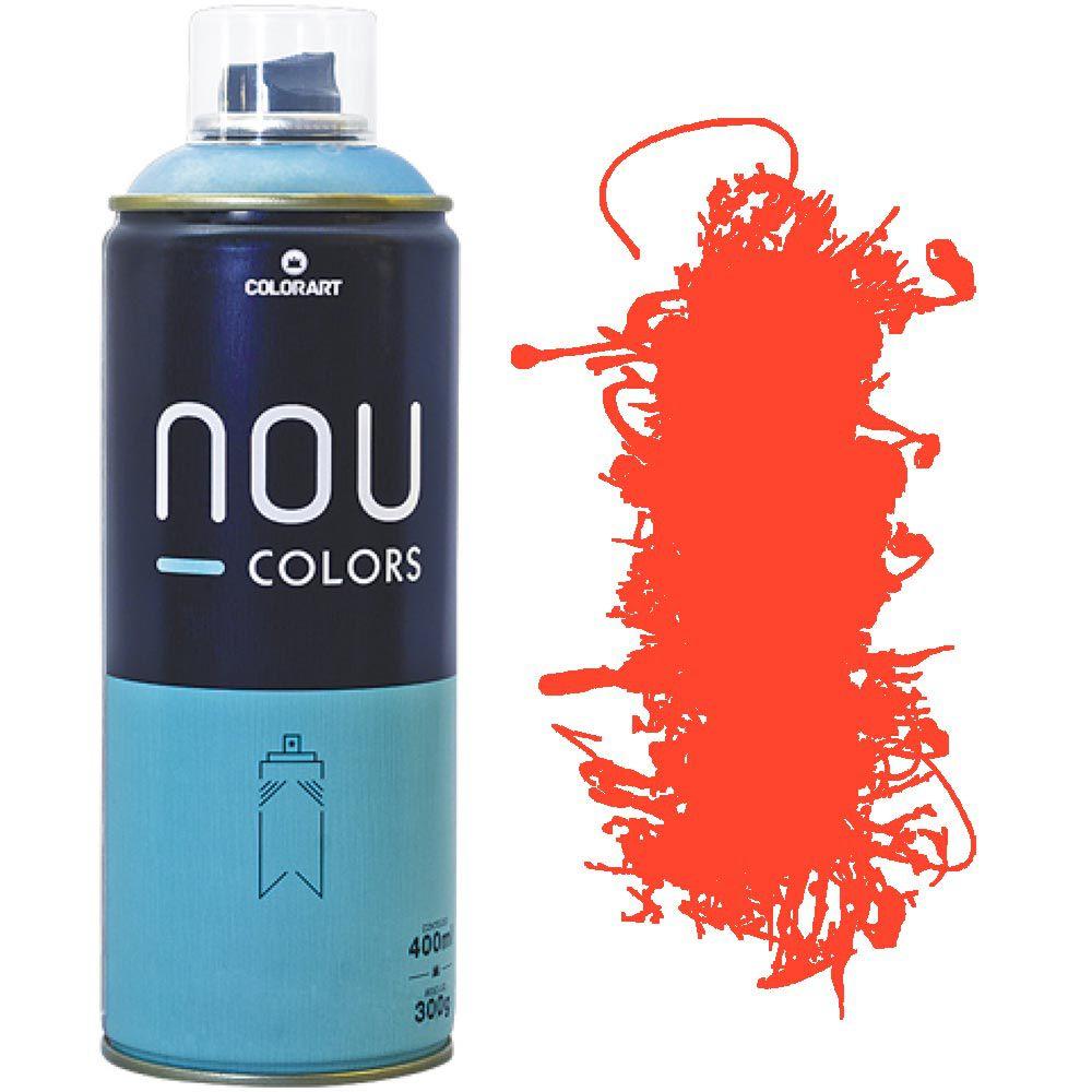 Tinta Spray Nou Colors 400ml Laranja luminoso 70043