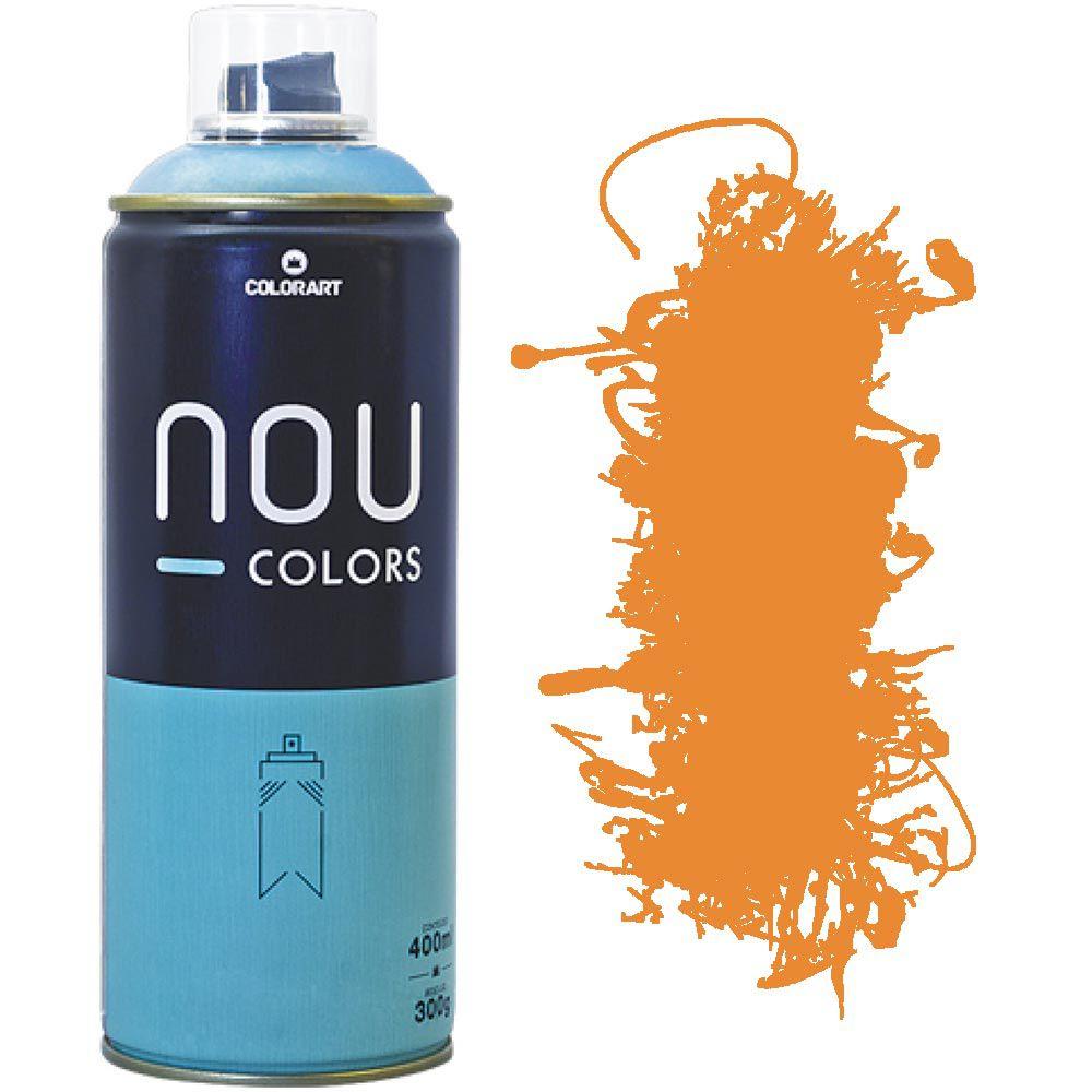 Tinta Spray Nou Colors 400ml Laranja none 70007