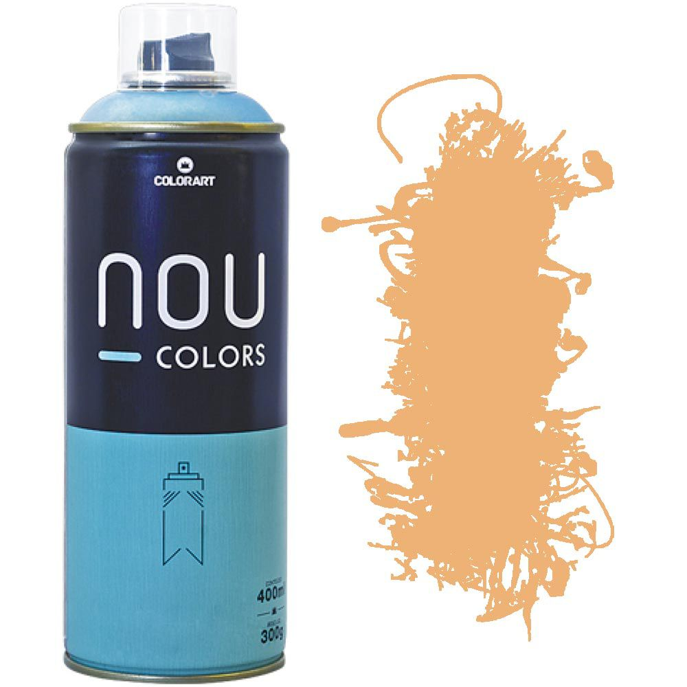 Tinta Spray Nou Colors 400ml Laranja solar 70006