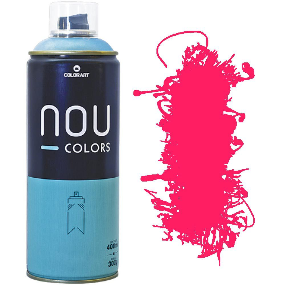 Tinta Spray Nou Colors 400ml Maravilha luminoso 70044