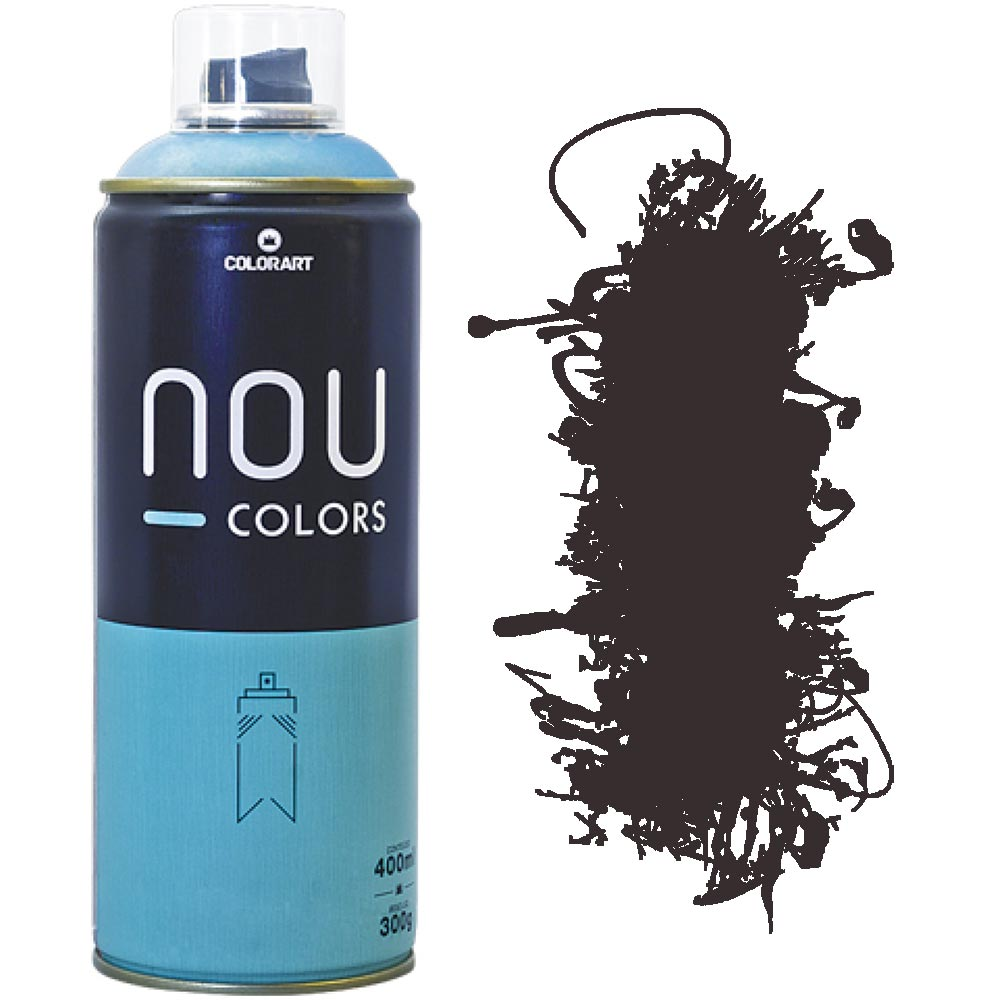 Tinta Spray Nou Colors 400ml Marrom balanca 70247