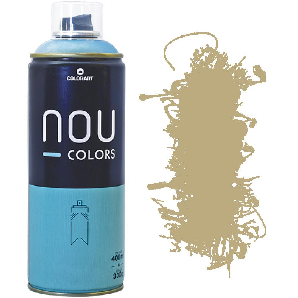 Tinta Spray Nou Colors 400ml Marrom inca 70210