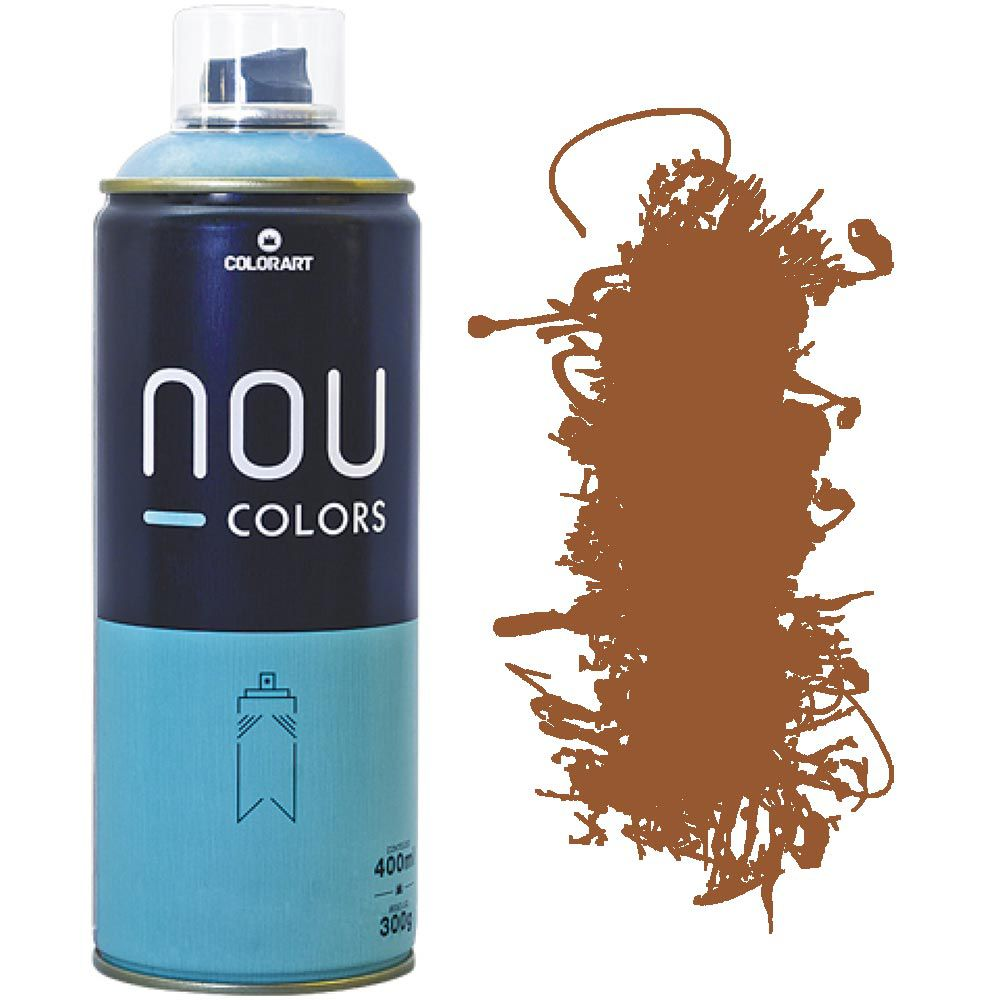 Tinta Spray Nou Colors 400ml Ocre 70040