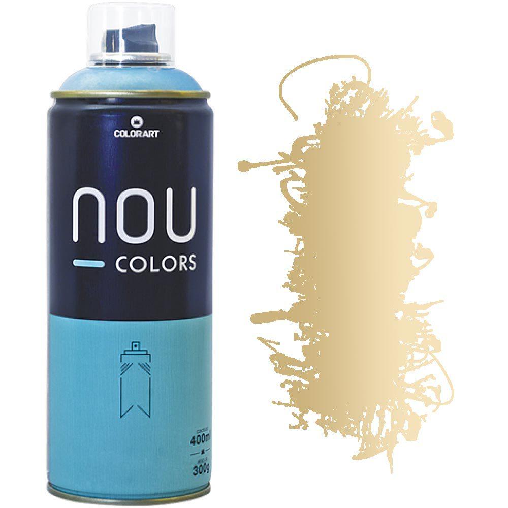 Tinta Spray Nou Colors 400ml Ouro Metálico 70046