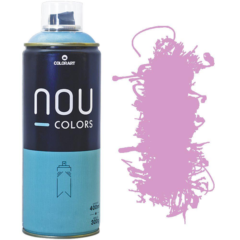 Tinta Spray Nou Colors 400ml Rosa bebe 70231