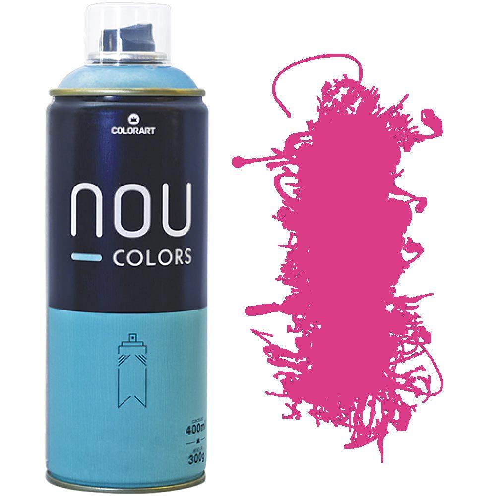 Tinta Spray Nou Colors 400ml Rosa magenta 70014