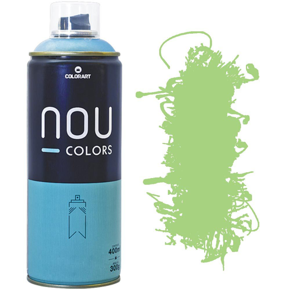 Tinta Spray Nou Colors 400ml Verde day 70029