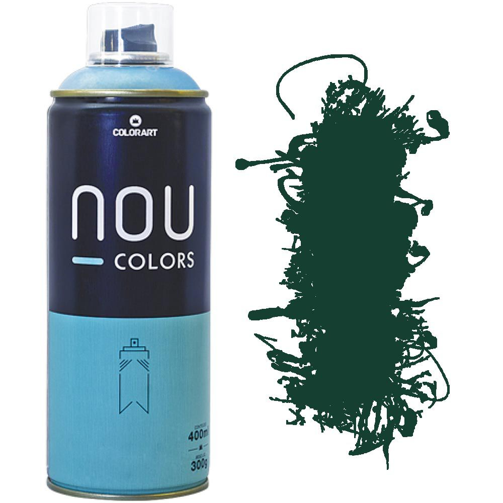 Tinta Spray Nou Colors 400ml Verde escuro 70034