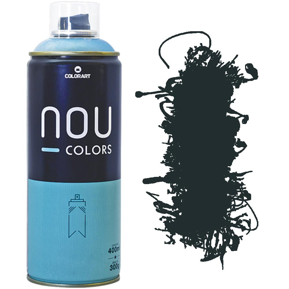 Tinta Spray Nou Colors 400ml Verde folha 70035