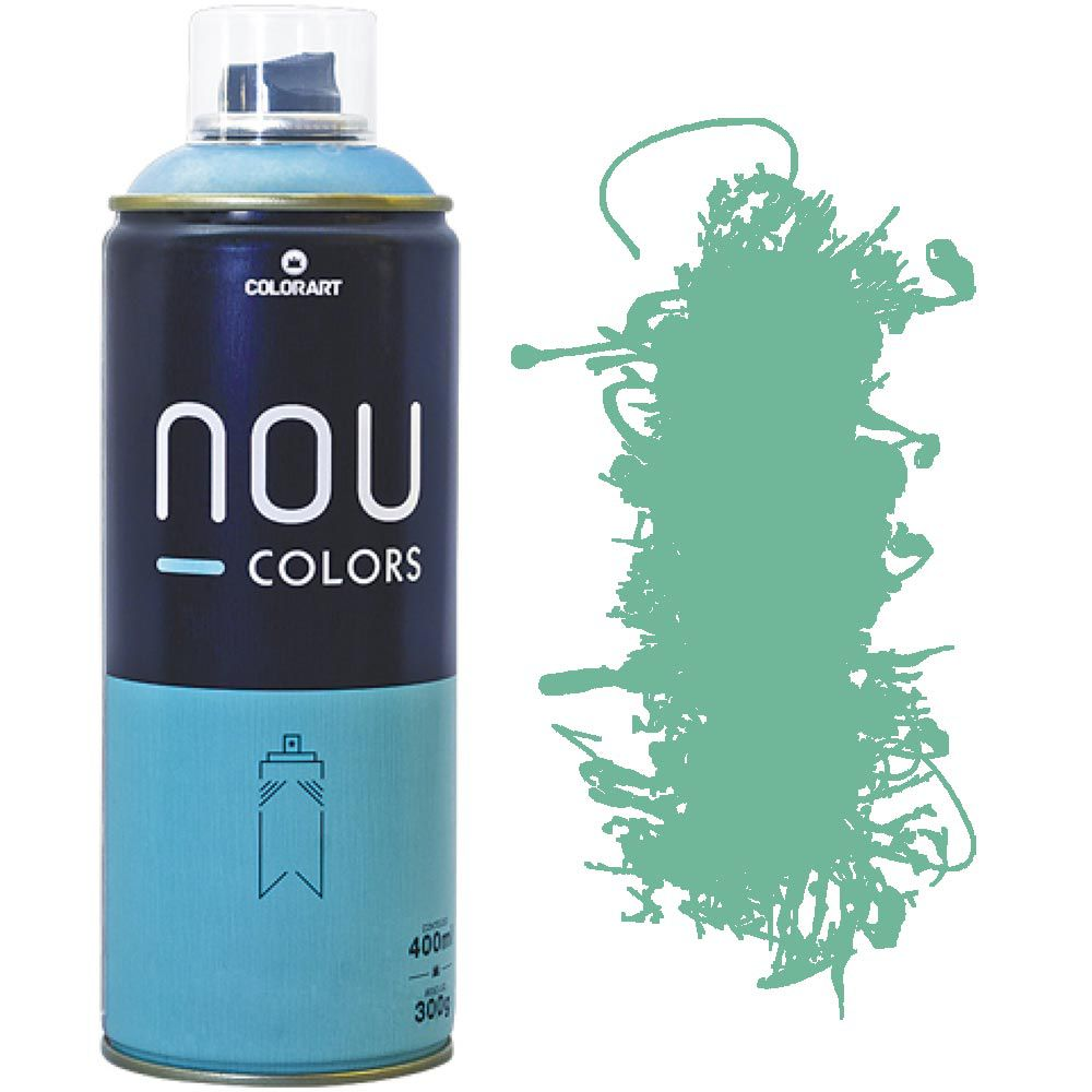Tinta Spray Nou Colors 400ml Verde palido 70033