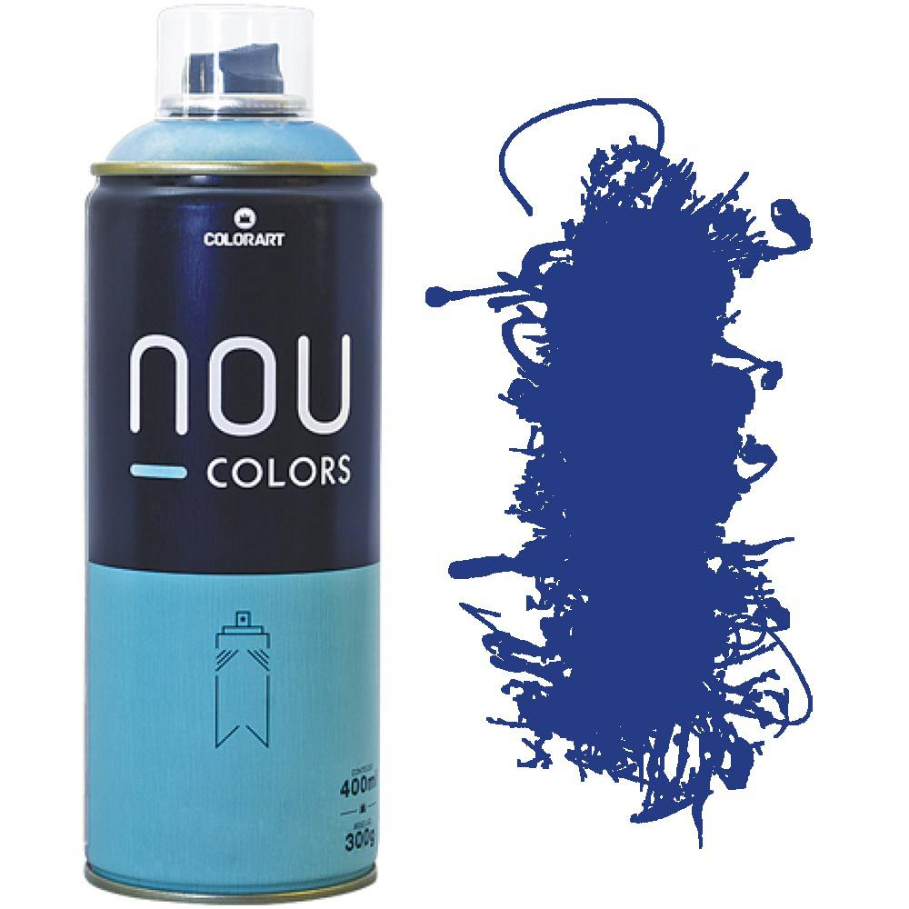 Tinta Spray Nou Colors 400ml Violeta azulado 70018