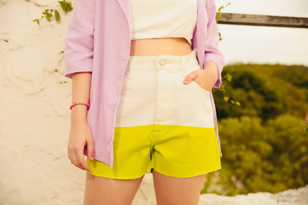 Hotpants bicolor tropical
