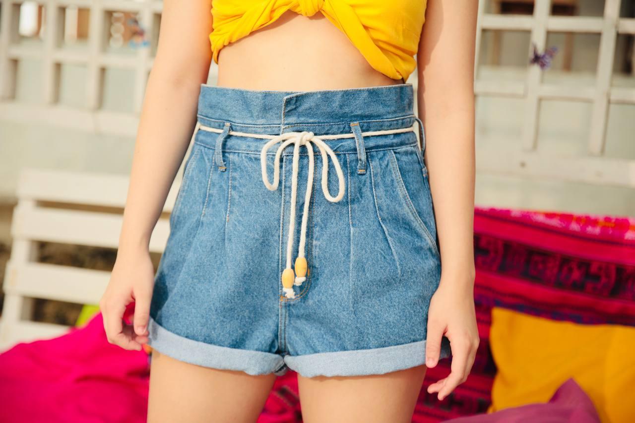 Hotpants cinto corda