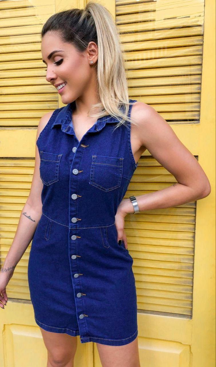 Vestido Jeans com elastano