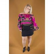 BLUSA FEM PLUS SIZE LAURA