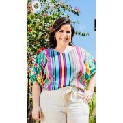 BLUSA PLUS SIZE ANGELICA A13944