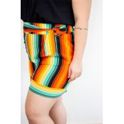 SHORTS BARRA ITALIANA ANN A13963