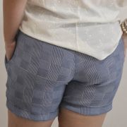 Shorts Feminino Xadrez Plus Size - Annual Plus
