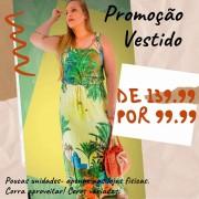 VESTIDO REGATÃO PLUS A8457
