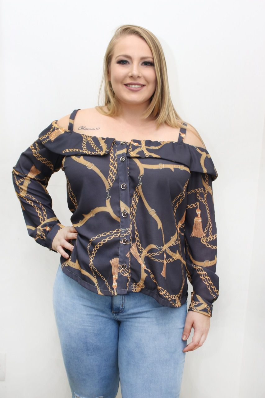 A12999 CIGANA PLUS SIZE ANITA