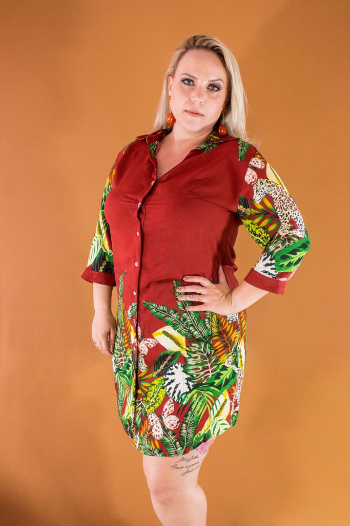 CHAMISE PLUS SIZE LUISA A9796
