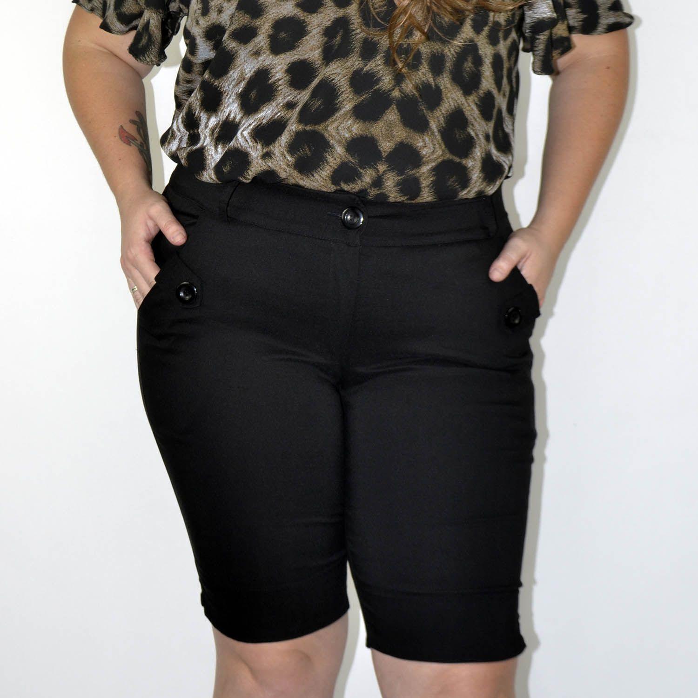Bermuda Feminina Plus Size - Annual Plus