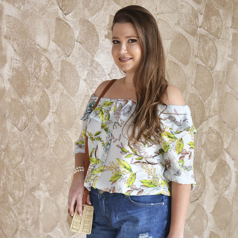 Blusa Cigana Feminina Plus Size - Annual Plus