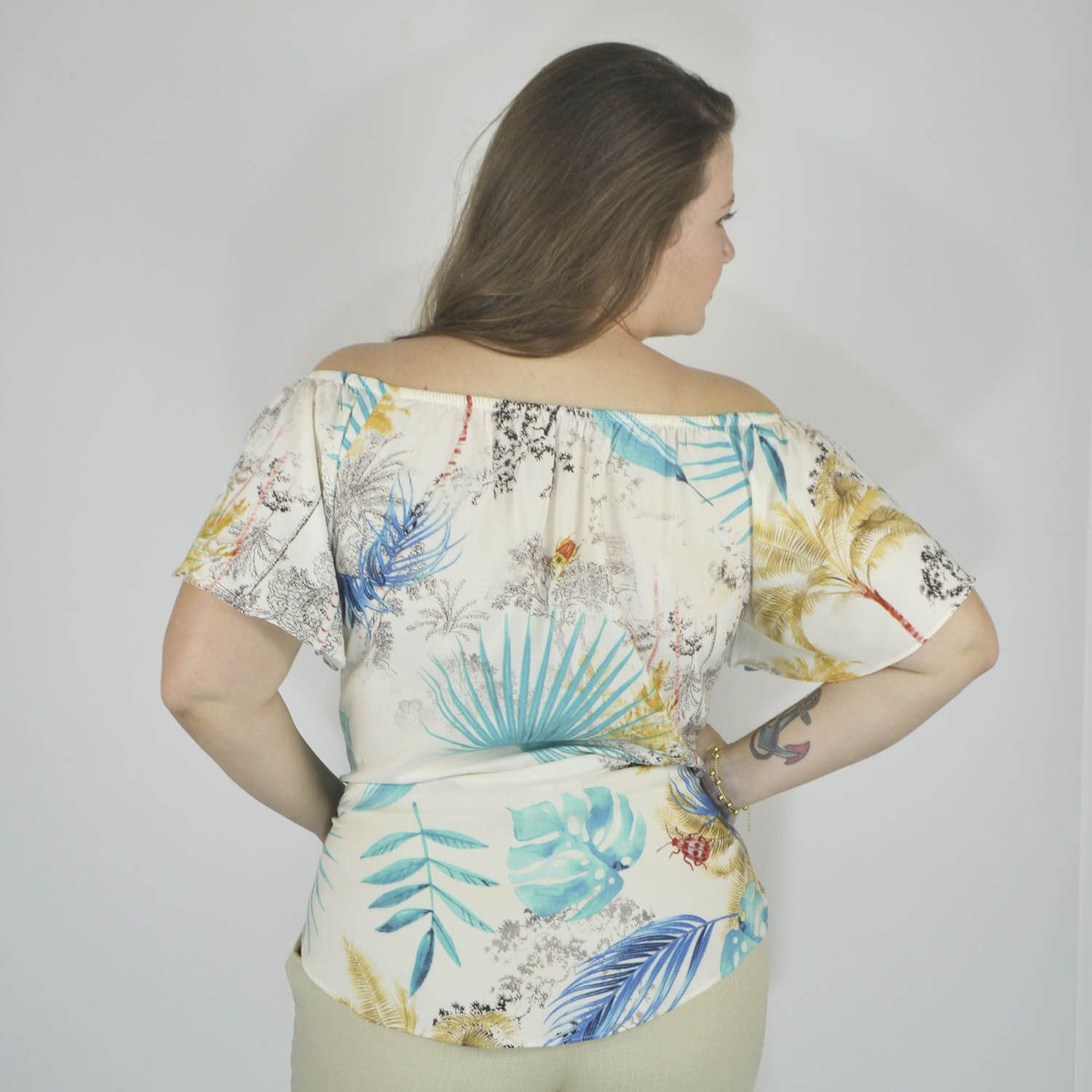 Blusa Cigana Feminina Plus Size - Annual Plus