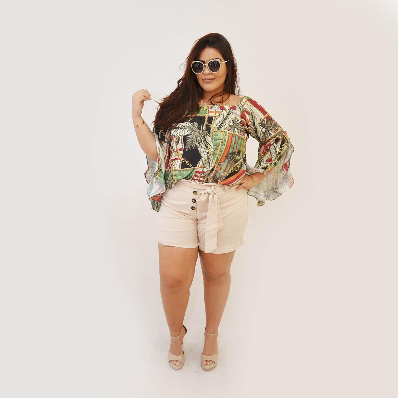 Blusa Feminina Ciganinha Plus Size Laura - Annual Plus