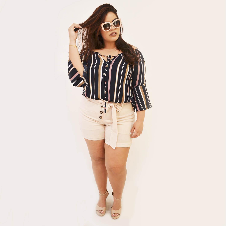 Blusa Feminina Ciganinha Plus Size - Annual Plus