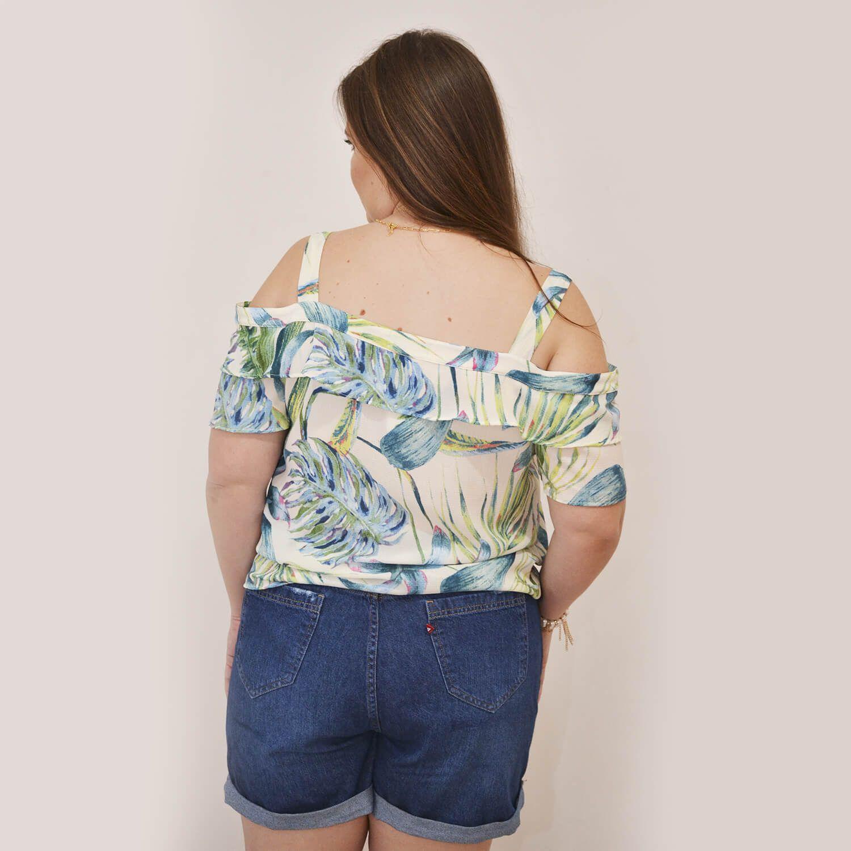 Blusa Feminina Ciganinha Plus Size Alice - Annual Plus