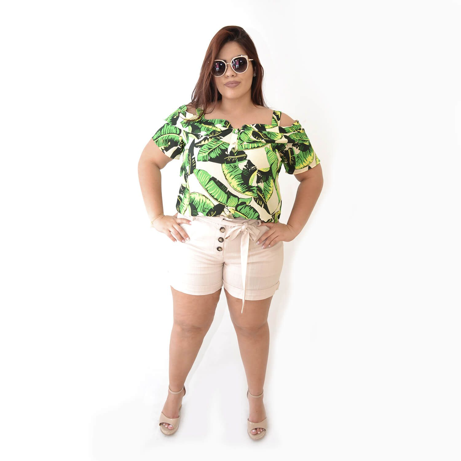 Blusa Feminina Ciganinha Plus Size Alice - Annual Plus