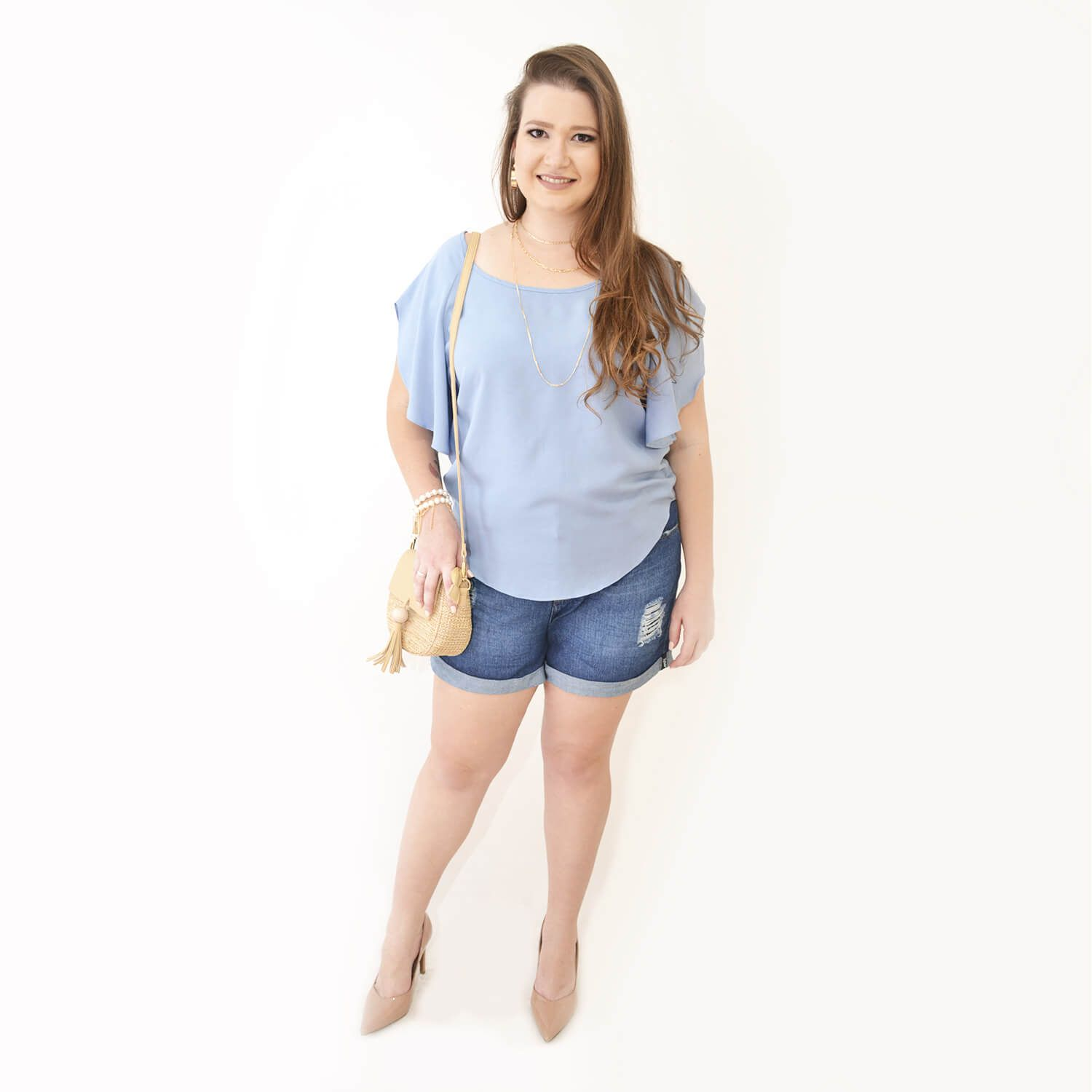Blusa Feminina Estampada Plus Size - Annual Plus
