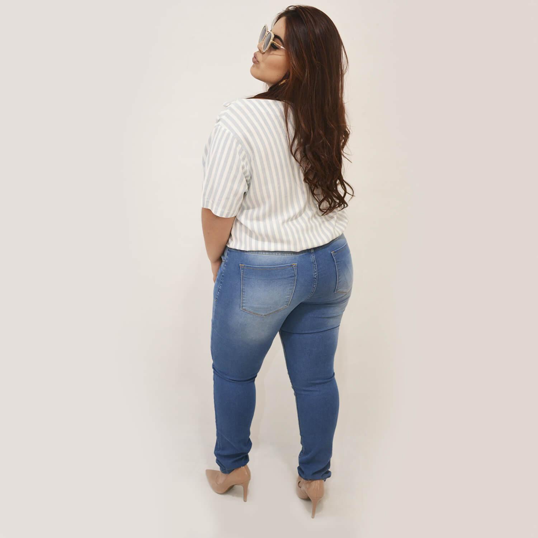 Blusa Feminina Listrada Plus Size - Annual Plus