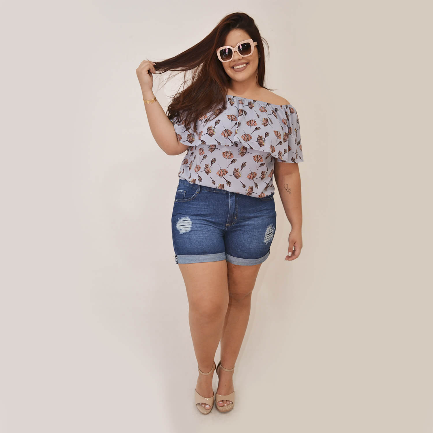 Blusa Feminina Plus Size Ana  - Annual Plus