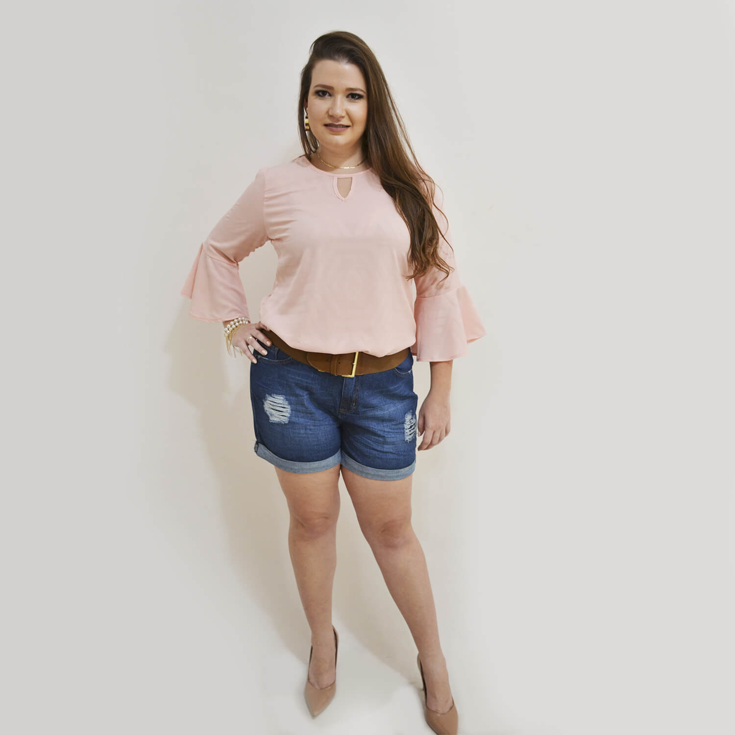 Blusa Feminina Plus Size Lara - Annual Plus