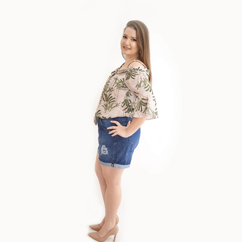 Blusa Feminina Plus Size Maria Clara - Annual Plus