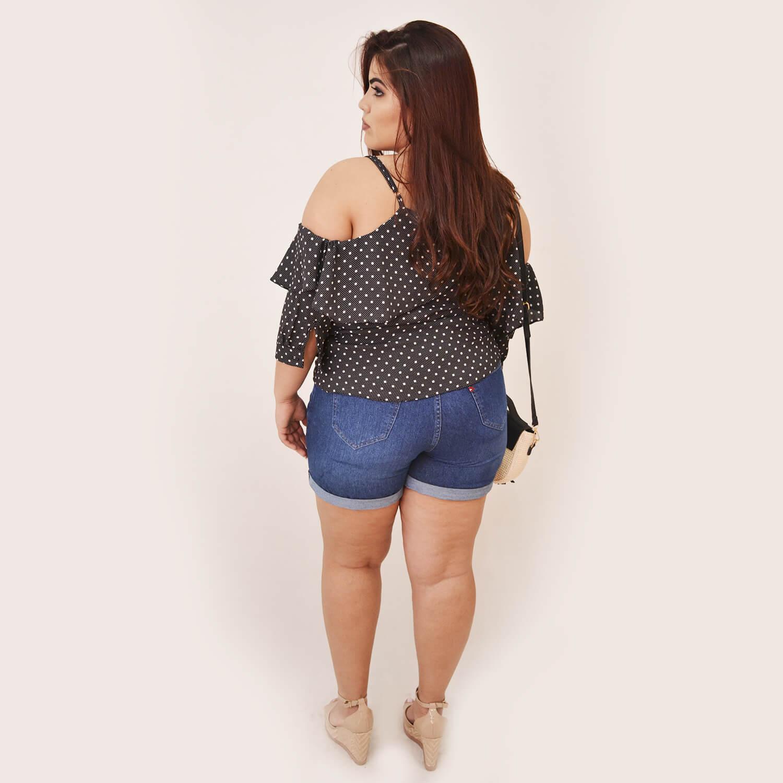 Blusa Feminina Plus Size Sophia  - Annual Plus