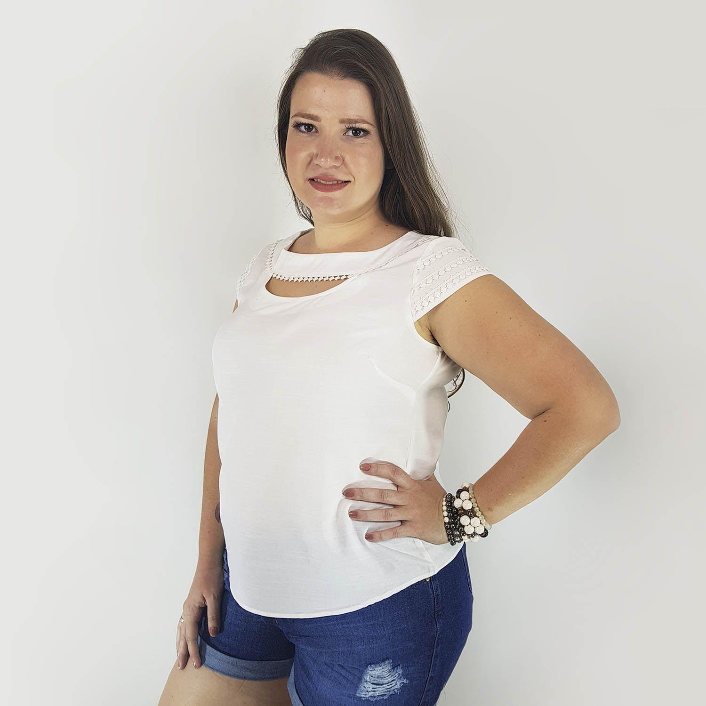 Blusa Feminino Plus Size - Annual Plus