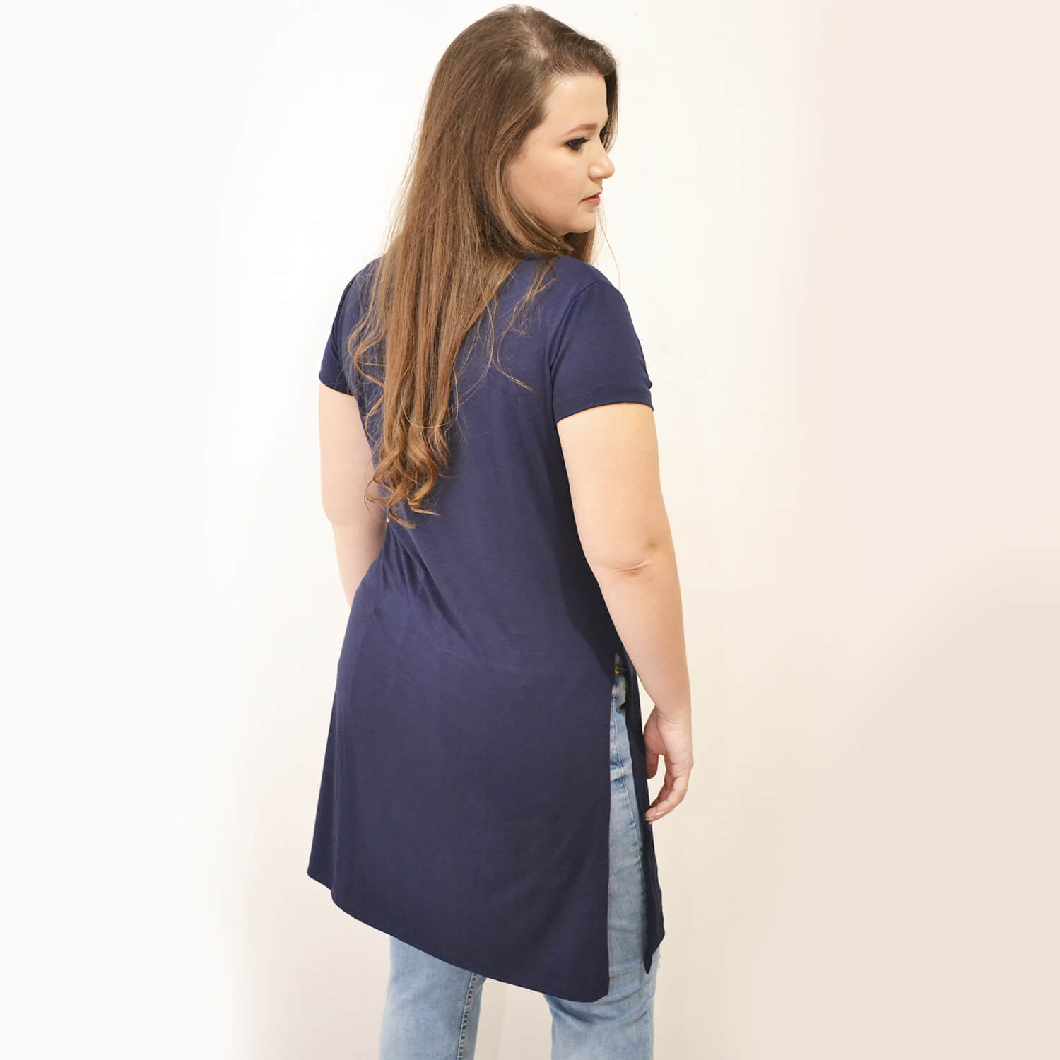 Blusa Longa Feminina Plus Size - Annual Plus
