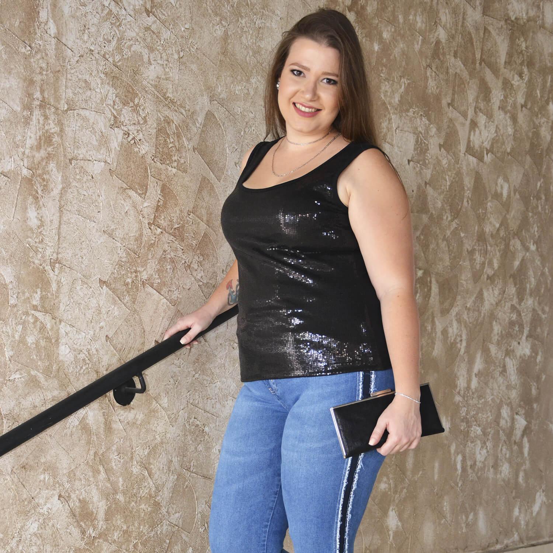 Calça Feminina Básica Plus Size - Annual Plus