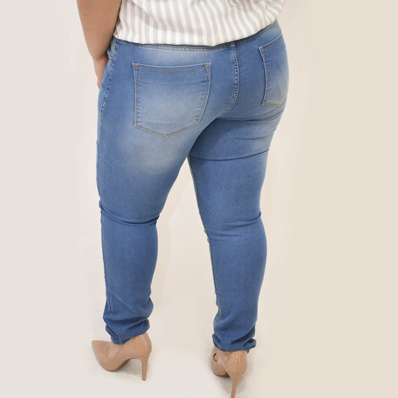 Calça Jeans Feminina Plus Size - Annual Plus